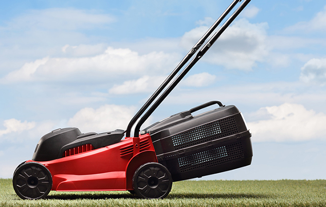 Making Lawnmowers Move More Freely - Lithium Ion Battery